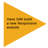 Have SIM build a new responsive website